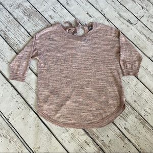 Light pink New York and Co sweater